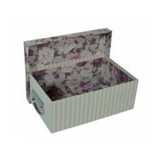 Caixa Organizadora 32x40x15,5cm Box House - Floral Chique - Limpeza e Arrumação - Magazine Luiza