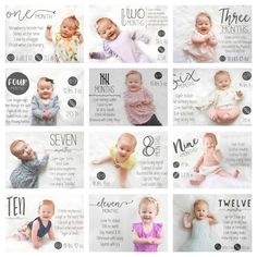 Tips for Taking Monthly Baby Photos | Little Nugget