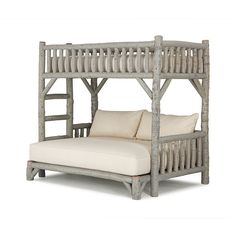 Bunk Bed (Twin/Full) #4255 (553 295 UAH) ❤ liked on Polyvore featuring home, children's room and children's furniture