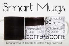 """Ryan Pfleger is raising funds for Color Changing """"Smart Mugs"""" with Thermochromic Pigments on Kickstarter! Brighten up your morning coffee with a thermochromic mug design or create your own using one of our awesome rewards. Thermochromic Paint, Smart Materials, Diy Tumblers, Diy Mugs, Craft Day, Color Changing Coffee Mug, Frappuccino, Do It Yourself Projects, Mug Designs"""