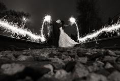 Matt Kennedy Photography  www.mattkennedy.ca      #weddingsparklers #sparklershot #sparklers #weddingphotos