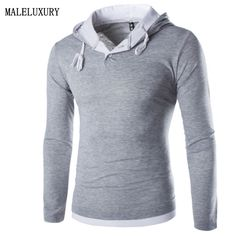 cool Mens Lightweight Hooded Pullover