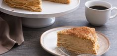 This take on tiramisu is made with layers of crêpes and a rich espresso mascarpone filling to create an eye-catching brunch item or dessert that will wow any crowd.