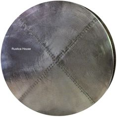 Round Zinc Table Top
