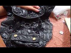Tuto réalisation de l'imper doudoune pour chihuahuas - YouTube