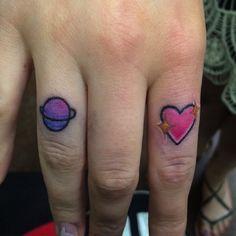 Cute finger tattoos today!! #fingertattoo #emoji #fun #heart #planet Heart Tattoo On Finger, Cute Finger Tattoos, Secret Tattoo, Emoji, Piercings, Instagram Posts, Fun, Tattoos, Ideas