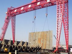 Shipyard gantry crane with truss structure has strong wind-ressitance and can be used in special conditions. Truss Structure, Gantry Crane, Strong Wind, High Quality Images, Utility Pole, Fair Grounds, Awesome