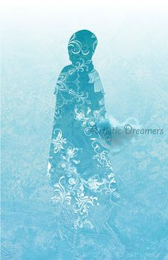 Princess Anna Silhouette by ArtisticDreamers on Etsy