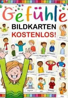 Kindergarten Portfolio, Kindergarten Lessons, Kindergarten Clipart, German Language Learning, Picture Cards, Teaching Materials, Logo Nasa, Classroom Management, Toddler Activities