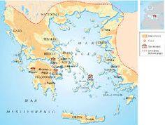 Helade Grecia peninsular - insular (actual) El origen de la civilización griega se remonta a la prehistória. Su nombre era Hélade por eso sus habitantes eran llamados Helenos.
