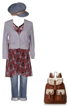 eighth by rubi-mariya on Polyvore featuring мода, Brunello Cucinelli, Paige Denim, T-shirt & Jeans and Nine West