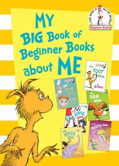 Look what I found on Dr. Seuss My Big Book of Beginner Books about Me Hardcover by Dr. Beginner Books, Shadow Warrior, Back To School Gifts, Penguin Random House, My Themes, Reading Levels, Childrens Books, Good Books, Free Books
