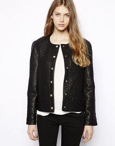 New Women's Leather Motorcycle Biker Jacket 100% Genuine Soft Lambskin #N30 #NationalLeather #MotorcycleBomber