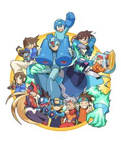 All The Different Versions of Mega Man