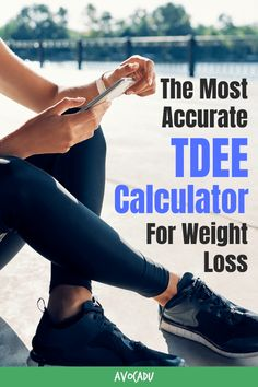 If you're trying to lose weight, you have probably thought about counting calories. But how do you know how many calories you should be eating? If you're trying to find the most accurate number, you need to calculate your TDEE. We found the most accurate TDEE calculator, as well as some other methods to figure out how to lose weight fast! #avocadu #weightlosscalculator #TDEEcalculator #howtocountcalories Fast Weight Loss Tips, Weight Loss Goals, Healthy Weight Loss, Weight Loss Calculator, Aerobics Workout, Lose Body Fat, Boost Your Metabolism, Lose 20 Pounds, Trying To Lose Weight