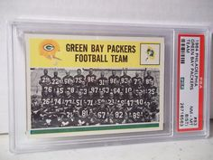 1964 Philadelphia Green Bay Packers NM-MT 8(ST) Football Card #83 NFL  #GreenBayPackers