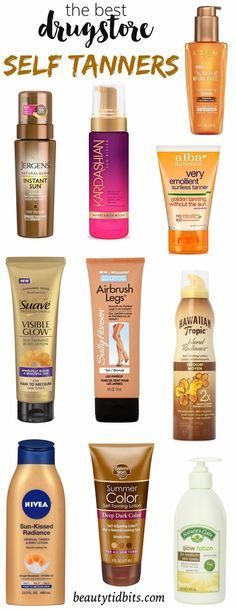 Get your glow on a budget with the best drugstore self tanners that will help you get beach-ready skin without the telltale smell or streaks!