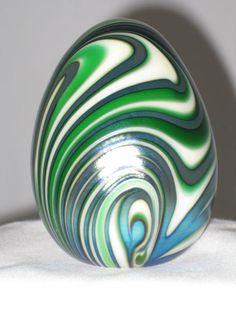 Handmade Glass Eggs