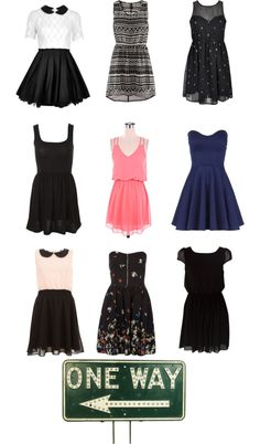 """""""Dresses part#1"""" by kiki09-1 ❤ liked on Polyvore"""