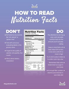 "We hear it all the time… ""Read your food labels."" ""Take necessary measures, and be aware of what you're putting into your body."" ""Do your best to stay away from unhealthy foods."" But if you've ever been confused and felt like a nutrition label was written in a foreign language, you're not alone. For the full article, visit us here: http://paleo.co/decodenutritionlabel"