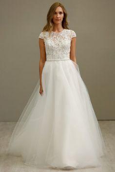 Tara Keely Spring 2016 Wedding Dress 1 | Martha Stewart Weddings