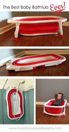 The Best Baby Bathtub for Bathing a Newborn - Hearts and Laserbeams