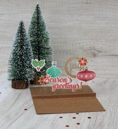 Wishing You Card by Caroli Schulz featuring Jillibean Soup Holly Berry Borscht