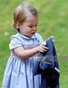 (NO UK SALES FOR 28 DAYS)  Princess Charlotte of Cambridge attends a children's party for Military families during the Royal Tour of Canada on September 29, 2016 in Victoria, Canada.  (Photo by Pool/Sam Hussein/WireImage)