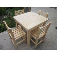 sillas de madera para restaurante uso rudo a hogar y comedor