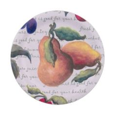 fruit 7 inch paper plate