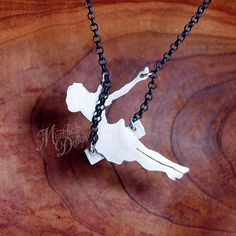 Made to Order  Original Sterling Silver Swinging Pinup di MarKhed, $89.00
