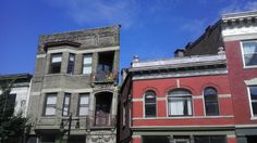 Woodburn Avenue in East Walnut Hills Cincinnati on a bright sunny morning. Around the corner from my house.