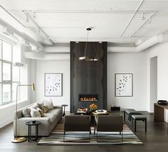 how to create a modern industrial look that is timeless interior