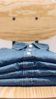 62d235536df Camisa Vaquera Eastwood. Camisa vaquera para hombre ...