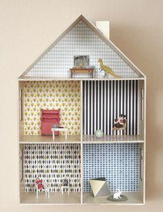Download het miniatuur wallpaper van Ferm Living en maak je eigen Ferm Living huisje.