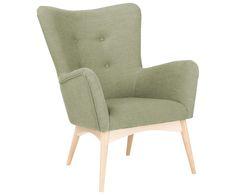 Übernehmen Sie den Vorsitz und entscheiden Sie sich für den Sessel LADY. Das Modell überzeugt mit dezenter Retro-Optik in angenehmer Farbnuance. Ob als Highlight in puristischen Wohnwelten im Scandi-Style oder in verspielten Vintage-Apartments: LADY macht sich in jedem individuellen Konzept gut. Der Sessel ist mit einem textilen Überzug bespannt, die feinen Stuhlbeine sind aus naturfarbener Eiche gefertigt. LADY hat echtes Lieblingsstück-Potenzial, denn der Sessel schafft eine tolle…