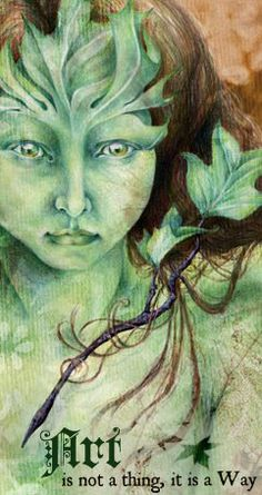 °The Green Woman by sphinxmuse >> there's something about the coldness of her expression that caught me - I wouldn't want to piss her off and too often people forget that the nature spirits have a vicious side to them Holly King, National Geographic Photography, Nature Spirits, Forest Illustration, Green Man, Old Master, Faeries, Mother Earth, Shades Of Green