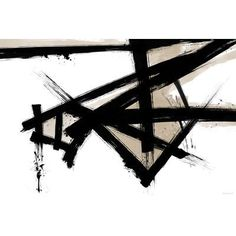 """Maxwell Dickson """"Lines Of Life"""" Graphic Art on Canvas Size: 24"""" H x 36"""" W"""
