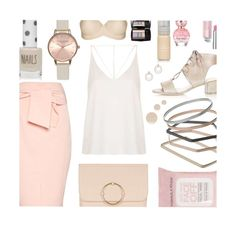 Untitled #376 by mlka on Polyvore featuring polyvore fashion style Topshop Lancôme Marc Jacobs clothing