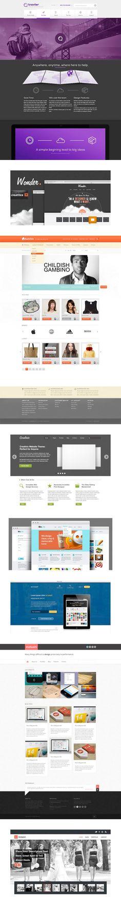 Plantilas en PSD para diseño web