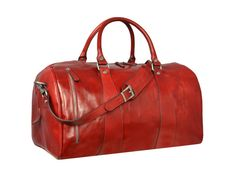 Genuine Leather Travel BagWeekend bagLeather by TimeResistance
