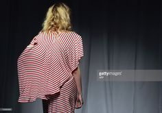 A model presents a creation by Belgian designer Martin Margiela... News Photo | Getty Images