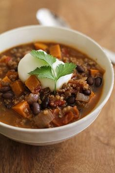 Recipes - Soups & Stews on Pinterest | Barley Soup, White Bean Soup ...