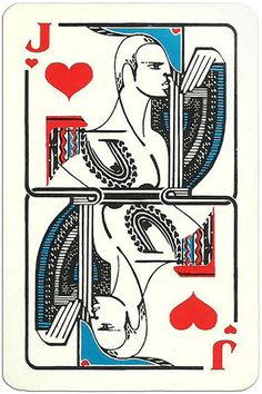 Jack of hearts Modernist artistic style cards from Russia Jack Of Hearts, Playing Cards Art, I Luv U, Heart Cards, Russia, History, Ambition, Decks, Artwork