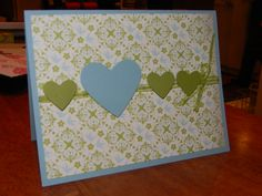 Another quick and easy Stampin' Up! card