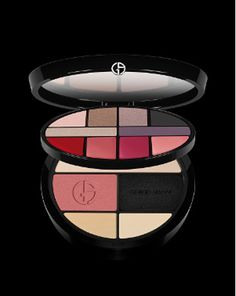 Giorgio-Armani-Color-Ecstasy-Palette-2014...6 eye shadows, 4 lipsticks, powder...this is awesome. Sadly not in regular stores.