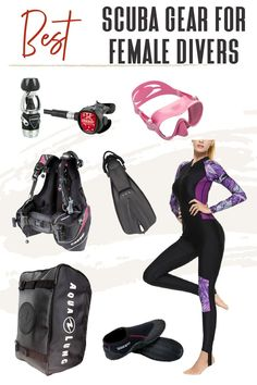 """When people ask """"How to travel with scuba gear?"""" the answer is, not easily! It's big, bulky, and can weigh a lot—but let TFG show you the best travel gear for diving to make packing a breeze! #TravelFashionGirl #TravelFashion #PackingTips #scubadivinggear #wateradventure #scubadivingaccessories Packing List For Travel, Packing Lists, Scuba Diving Gear, Travel Luggage, Travel Accessories, Travel Style, Breeze, Gears, What To Wear"""
