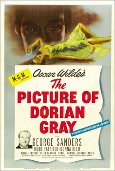The Picture of Dorian Gray (1945) starring George Sanders, Hurd Hatfield & Donna Reed