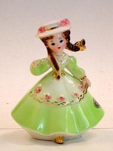 Josef Originals Germany Girl Figurine Little Internationals Series