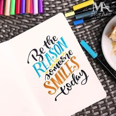 Brush Pen Art, Amai, Make You Smile, Typography, Valentines, Let It Be, Make It Yourself, Pens, How To Make